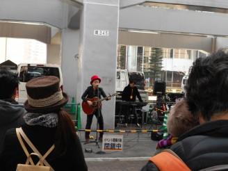 【ASAICHIBAN LIVE】 今月から月一回のペースで開催!! 本格派シンガーの歌声を楽しみました♪